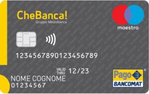 Carta di Debito Conto CheBanca Business