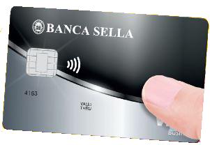 Carta di debito Conto Small Business Banca Sella