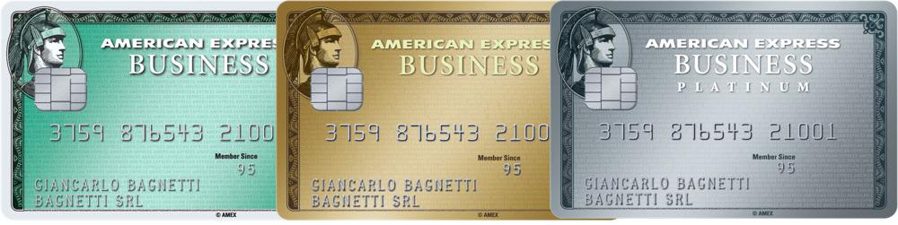 Carte di credito American Express Conto CheBanca Business