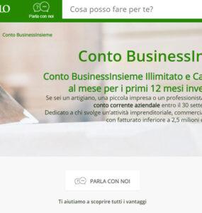Conto Business Insieme Intesa San Paolo