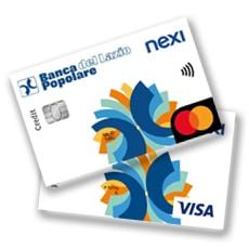 Carta di Credito Nexi - Conto Pro Banca Popolare del Lazio
