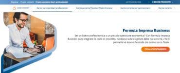 Formula Impresa Business: conto corrente Ubi Banca