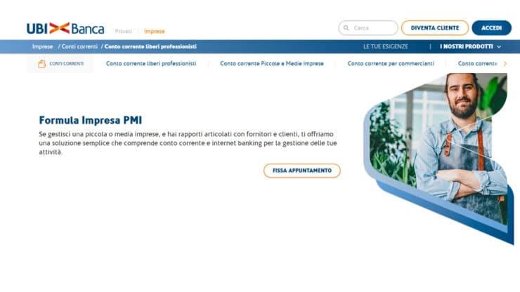 Formula Impresa PMI: conto corrente Ubi Banca